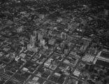 Aerial View of Downtown Tulsa, mid-1960s